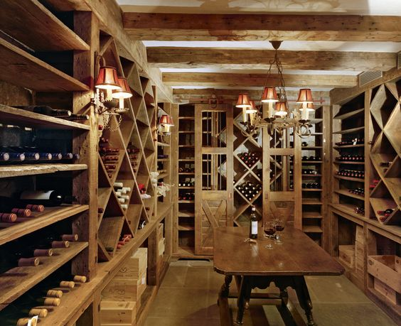 Wine cellar via pinterest Douglas Vanderhorn architect