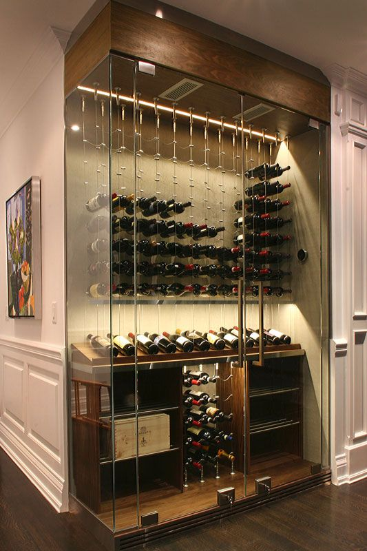contemporary wine cellar via  pinterest