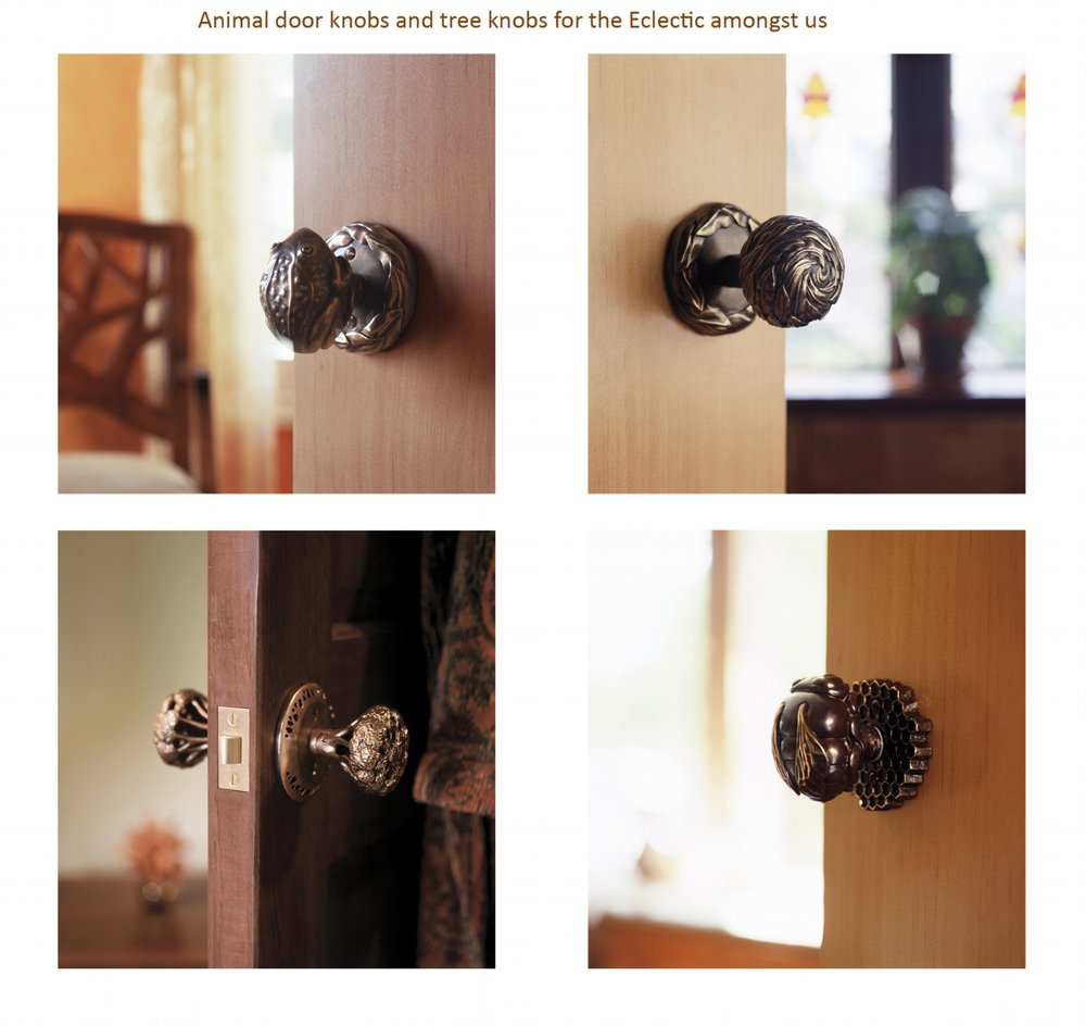Interior And Exterior Door Knob Sets