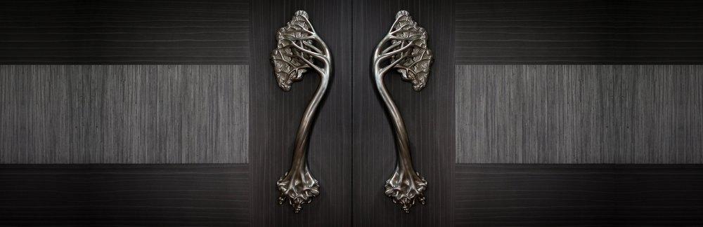 Etonnant TREE DOOR HANDLES Luxury Door Handle Collection, Inspired By Gaudi Hedgerow  Hardware