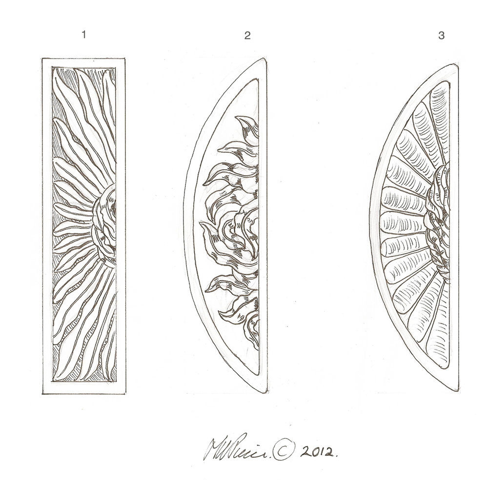 See Castings of the Willow Design shown on the left