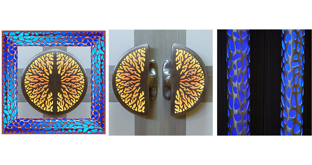Illuminated Door Handles