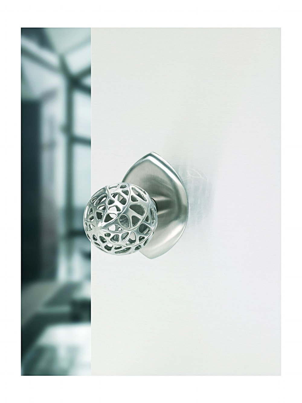 Modern Door Knob part of the Morphic Collection