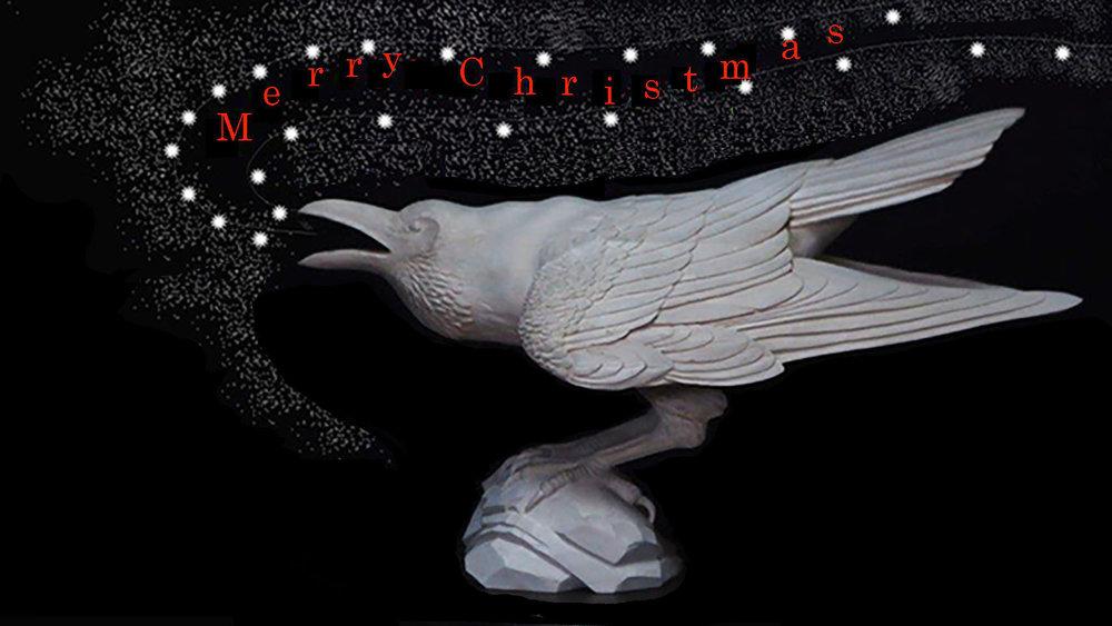 raven-sculpture