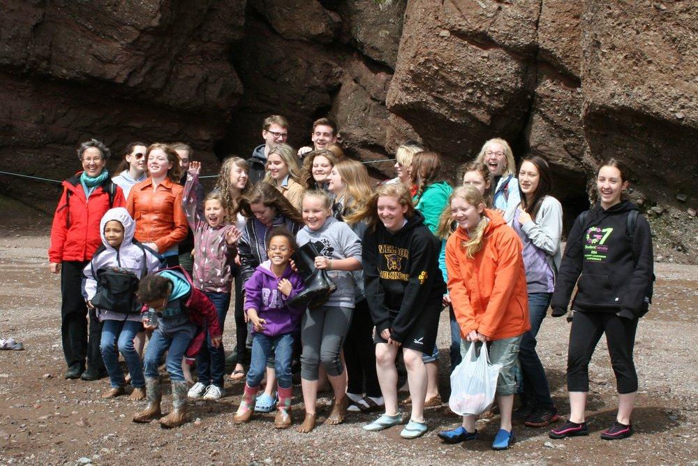 Hopewell Rocks, Trip East, 2014.JPG