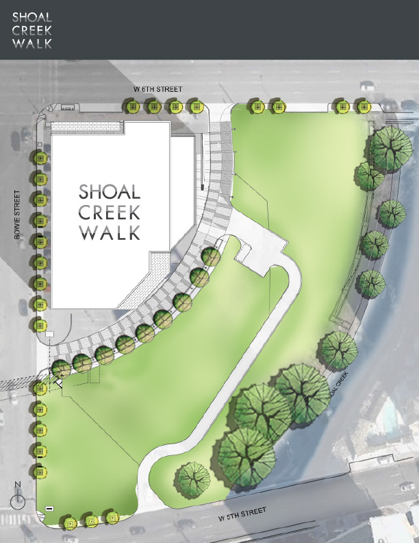 Shoal Creek Walk Site Plan