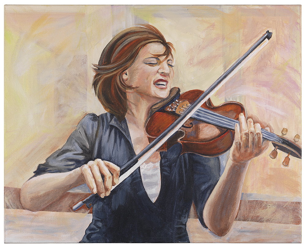 "Musical Joy 24 x 30"""