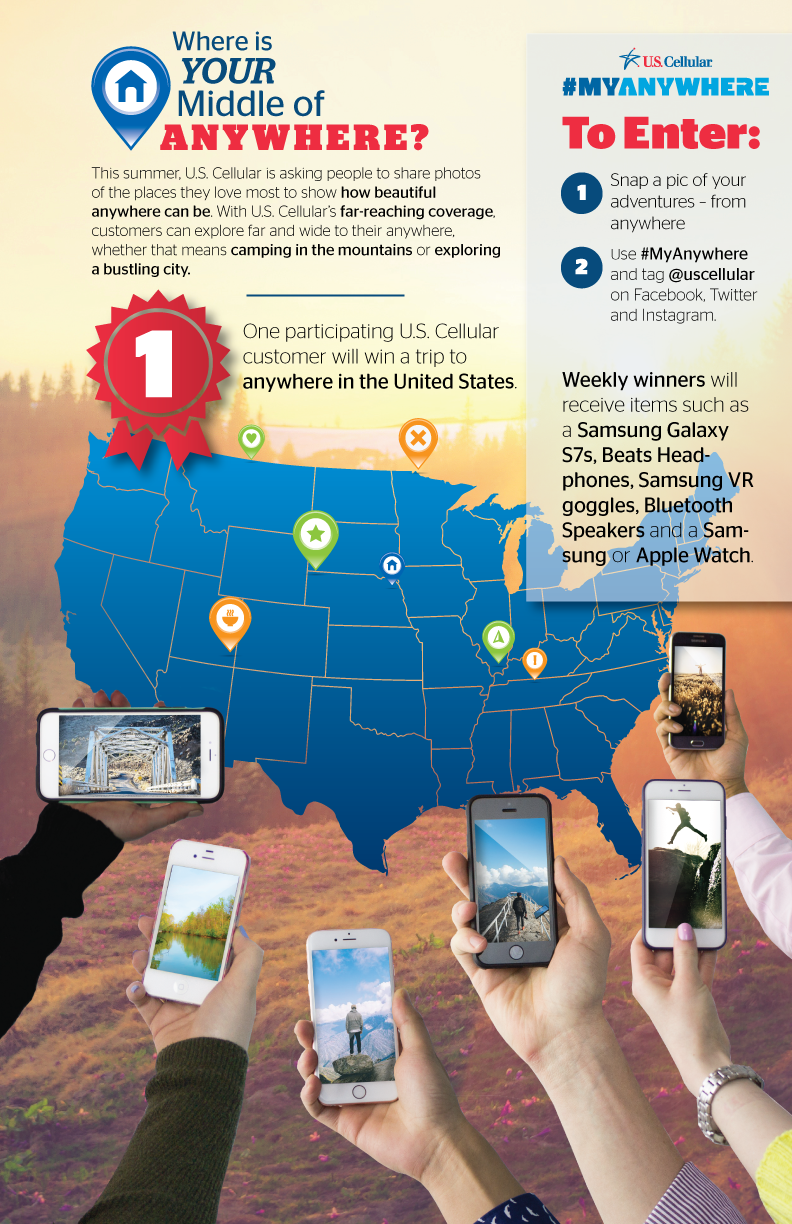 U.S. Cellular - My Anywhere Contest