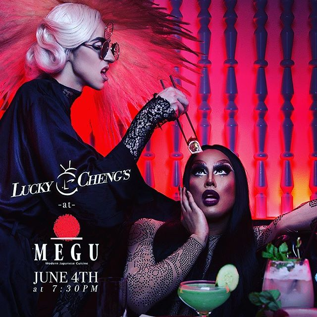 Lucky Cheng's at @meguworldwide Every Monday Starting June 4th at 7:30pm. Make your reservations now!!!