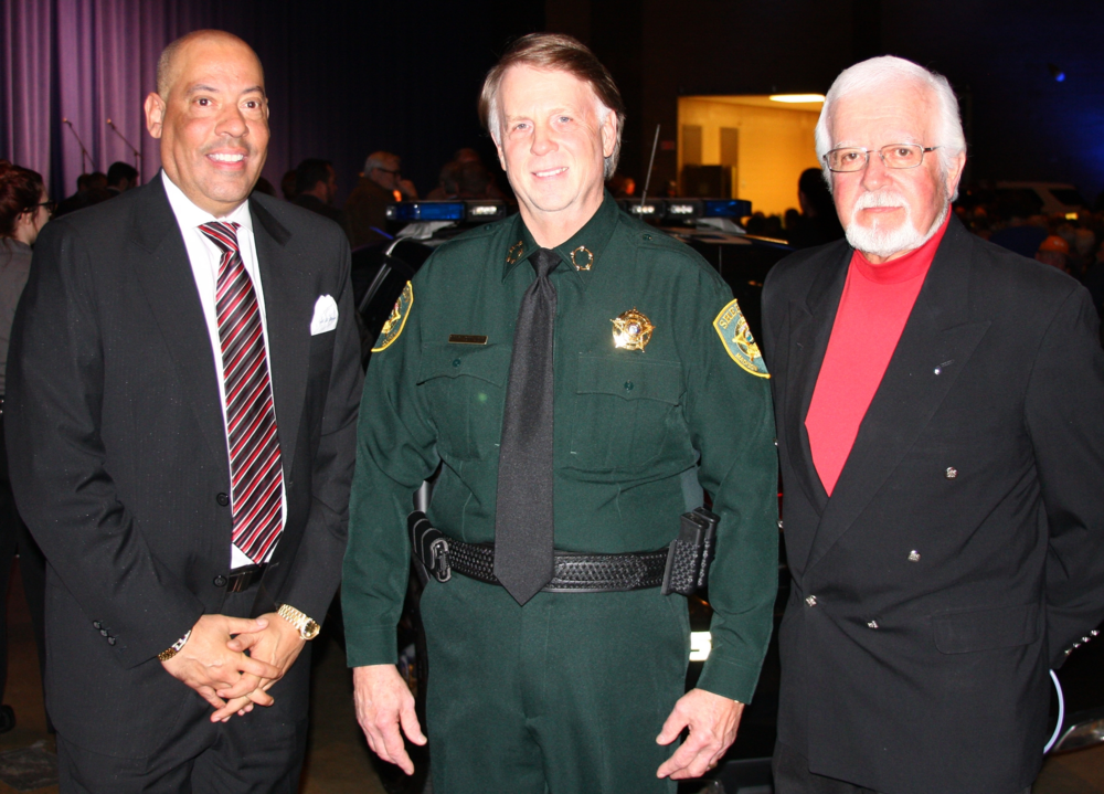 TBI Director Mark Gwynn, Sheriff John Mehr & County Commissioner Gary Deaton