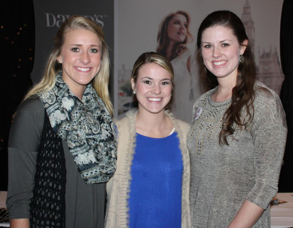 Kelsey Edwards, Darby Davis & Katelin Edwards