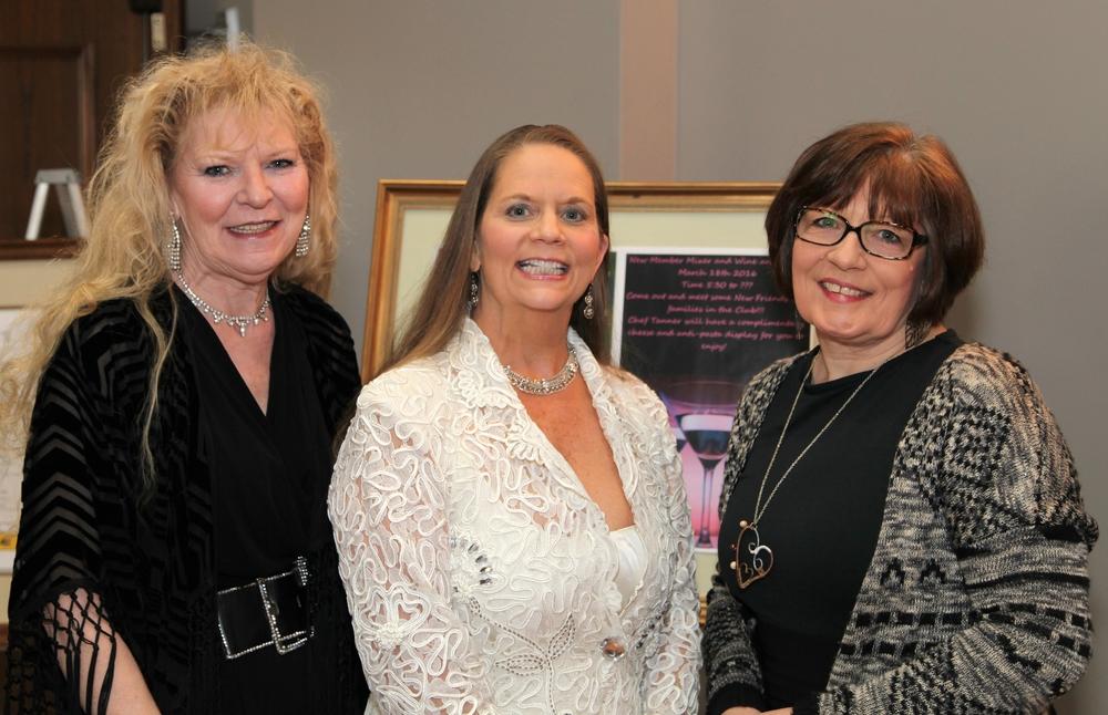 Julie Walker, Lynn Caldwell & Gail Hamilton