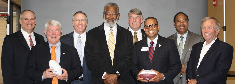 Chuck Miller, Rep. Jimmy Eldridge, Clif Morris, Bobby Bell, Sen. Ed Jackson, Dr. Logan Hampton, David Hunt & Hoyt Hayes