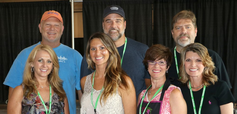 Trent Alford, Jack Matthis, Brad Issacs, Jennifer Alford, Shelby Matthis, Kathy Brooks & Ginger Terry