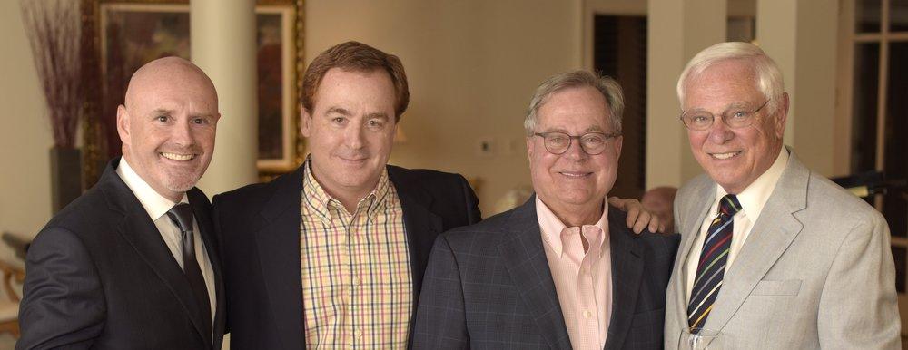 Peter Shannon, Dr. Brad Priester, Carl Kirkland & Dr. Tyler Swindle