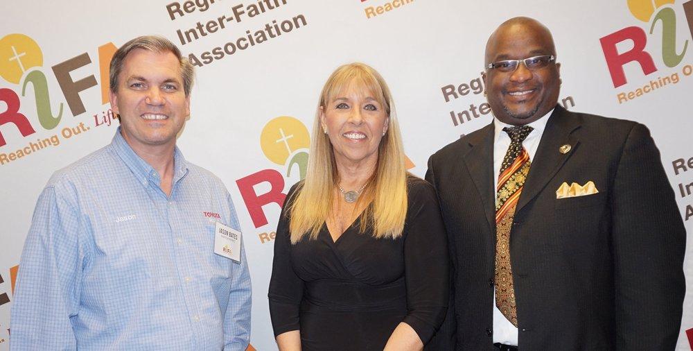 Jason Bates, Lisa Tillman & Rev. Ernest Polk