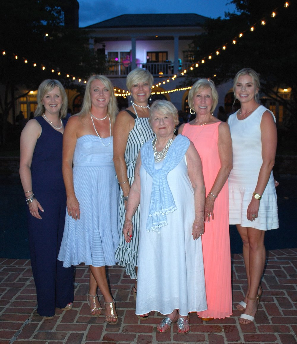 Vicki Neblett, Traci Carney, Celia Jordan, Anita Kay Archer, Danice Haltom & Caroline Campbell