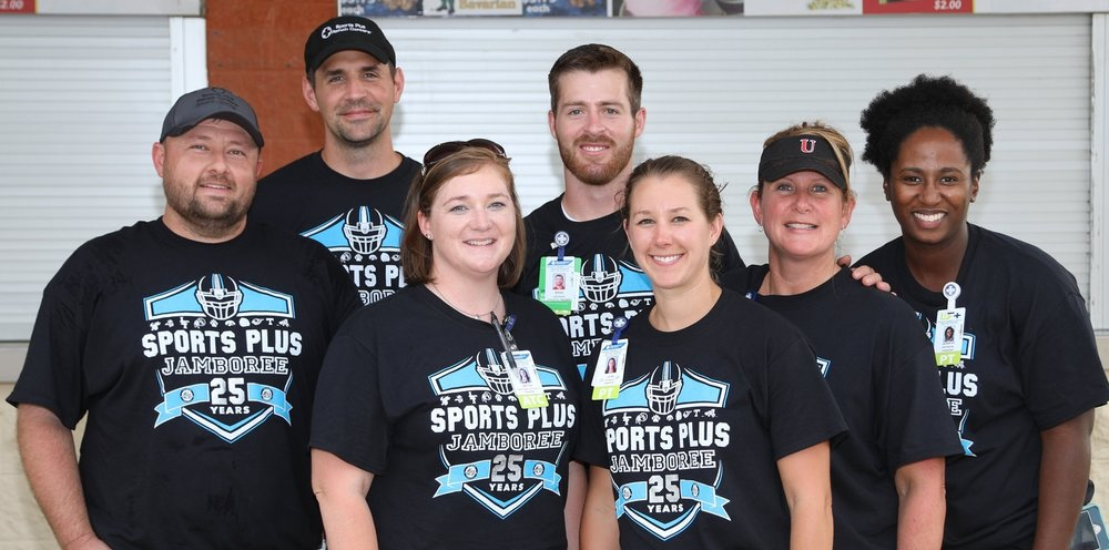 Sports Plus Volunteers