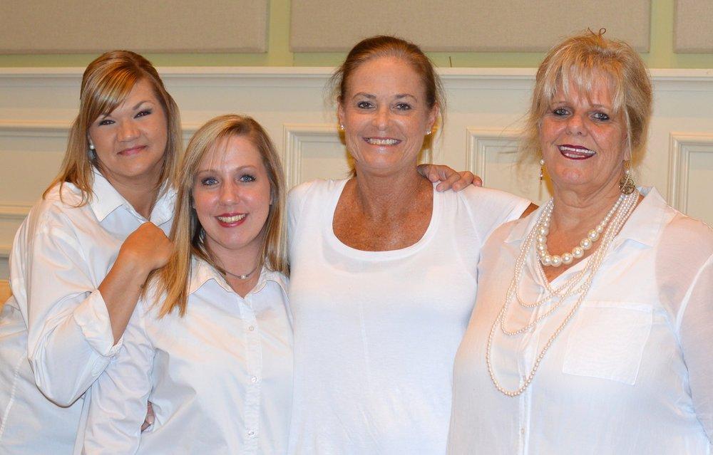 Amanda Davis, Leslie Faulkner, Jennifer Ownby & Gail Gustafson