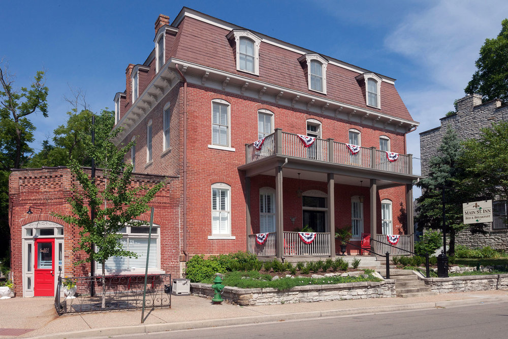 Main St. Inn Bed & Breakfast.
