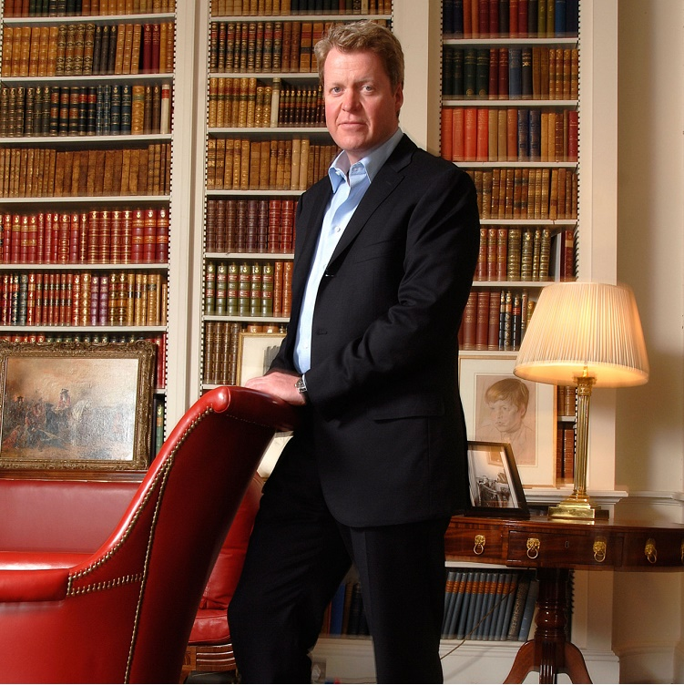 Charles, 9th Earl Spencer, to headline the keynote presentation at the 28th annual Antiques and Garden Show of Nashville, February 2-4, 2018 at the Music City Center.   Photo credit: Antiques and Garden Show of Nashville