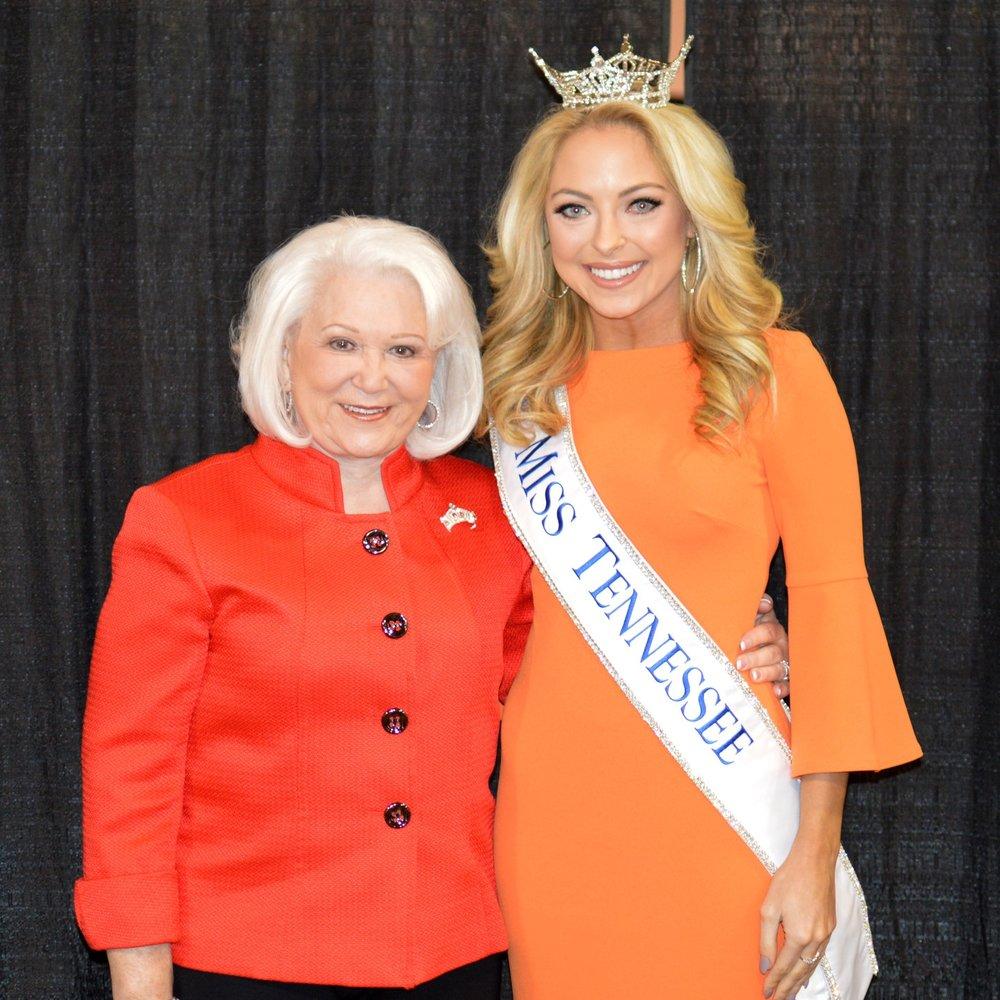 Jane Alderson & Miss Tennessee Caty Davis