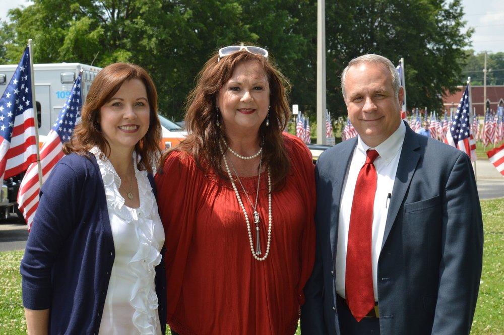 Rita McCaslin, Julie Cooke & Kirk Newcom