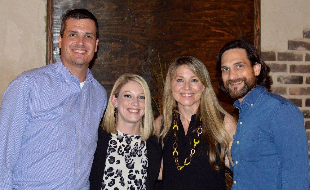 Jeremy Lambert, Tania Lambert, Jill & Mark Taylor
