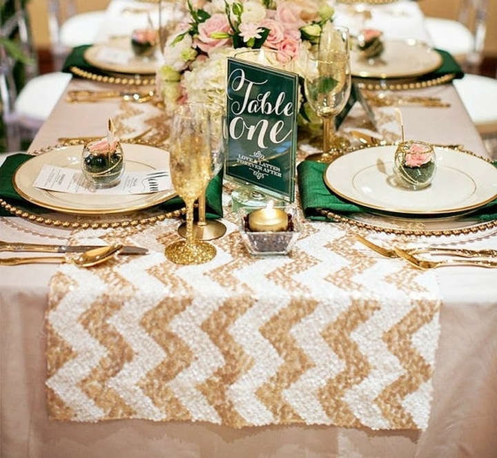 Glitz Sequin Table Runners!