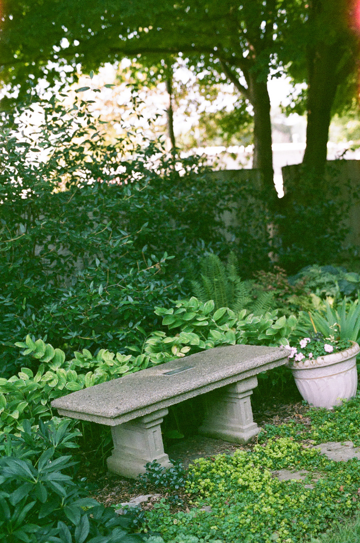Seattle Film Works Photowalk - Bellbrook, Ohio - Garden Bench