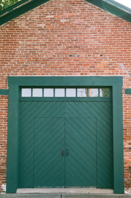 Seattle Film Works Photowalk - Bellbrook, Ohio - Green Doors