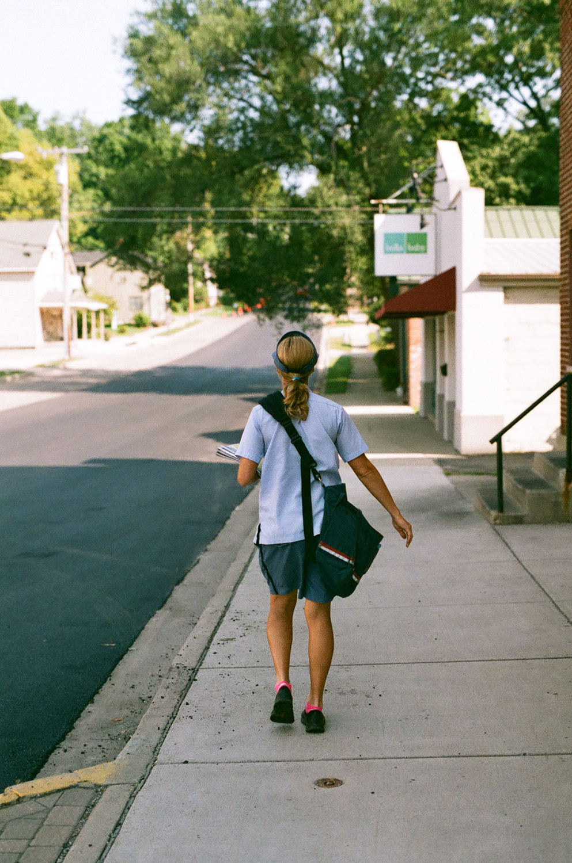 Seattle Film Works Photowalk - Bellbrook, Ohio - Letter Carrier