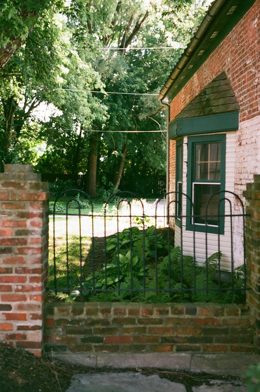 Seattle Film Works Photowalk - Bellbrook, Ohio - Wrought Iron Fence