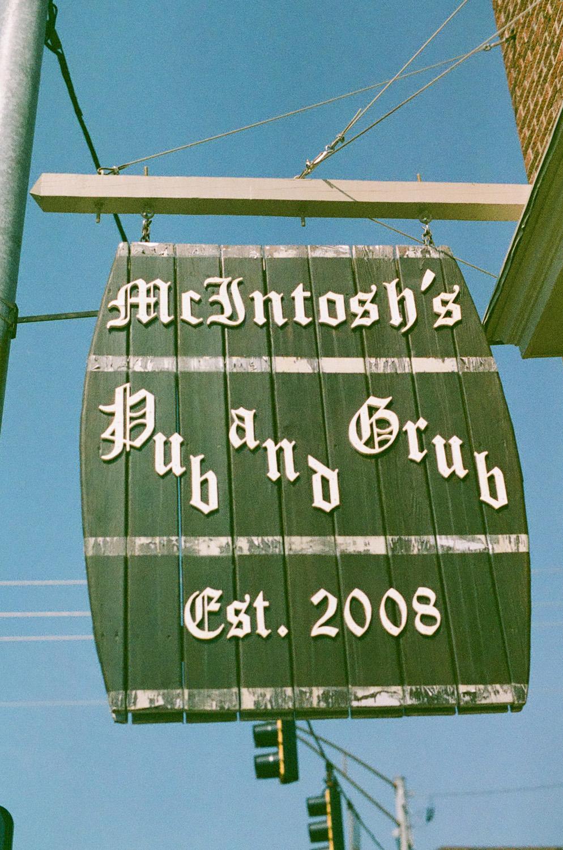 Seattle Film Works Photowalk - Bellbrook, Ohio - Pub Sign