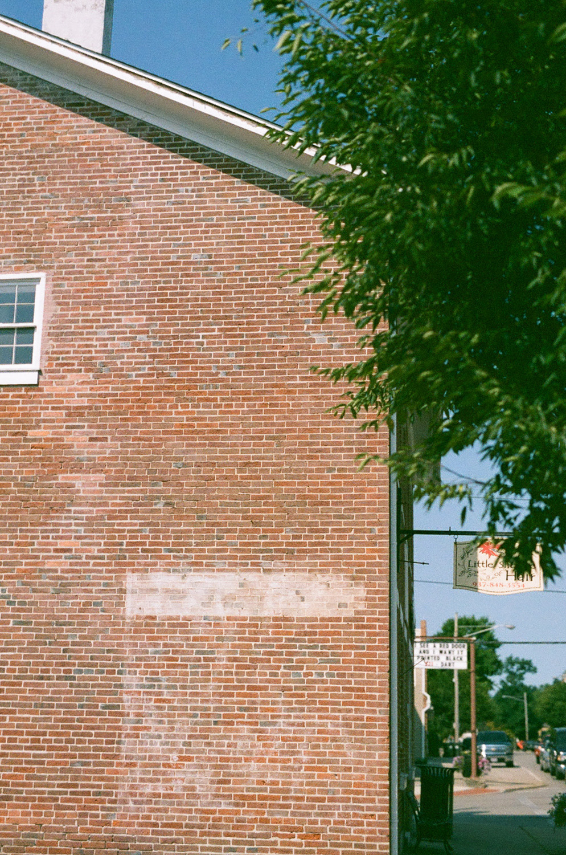 Seattle Film Works Photowalk - Bellbrook, Ohio - Brick Wall
