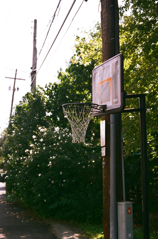 Seattle Film Works Photowalk - Bellbrook, Ohio - Basketball Hoop