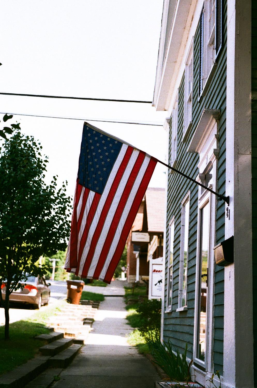 Seattle Film Works Photowalk - Bellbrook, Ohio - American Flag