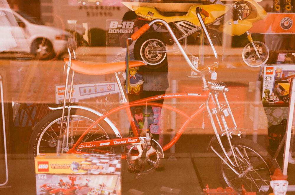 Seattle Film Works Photowalk - Bellbrook, Ohio - Vintage Bicycle
