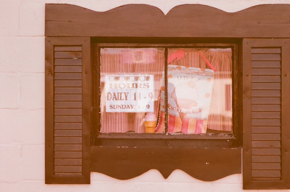 Seattle Film Works Photowalk - Bellbrook, Ohio - The Dairy Shed window