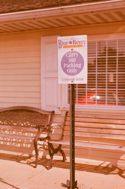 Seattle Film Works Photowalk - Bellbrook, Ohio - Blueberry Cafe Parking