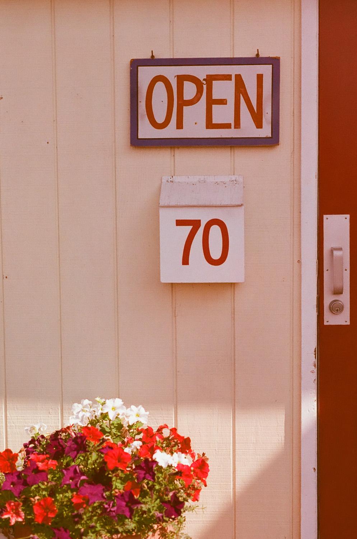 Seattle Film Works Photowalk - Bellbrook, Ohio - Open Sign