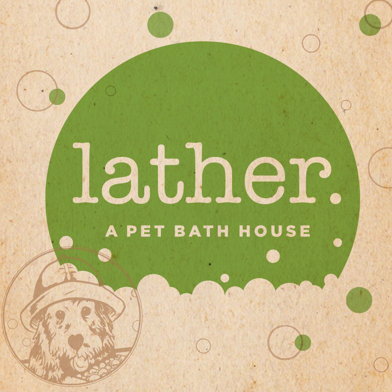 LATHER. A PET BATH HOUSE