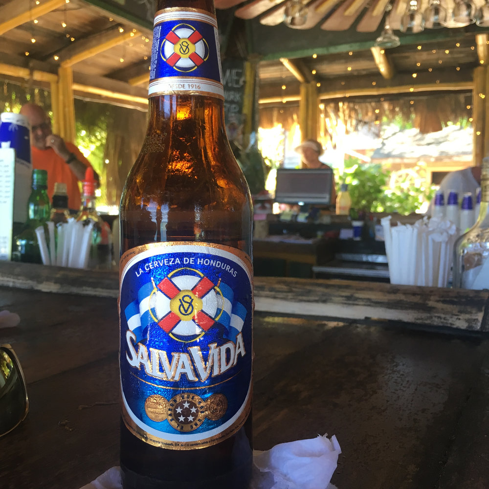Salva Vida, Honduran Cerveza