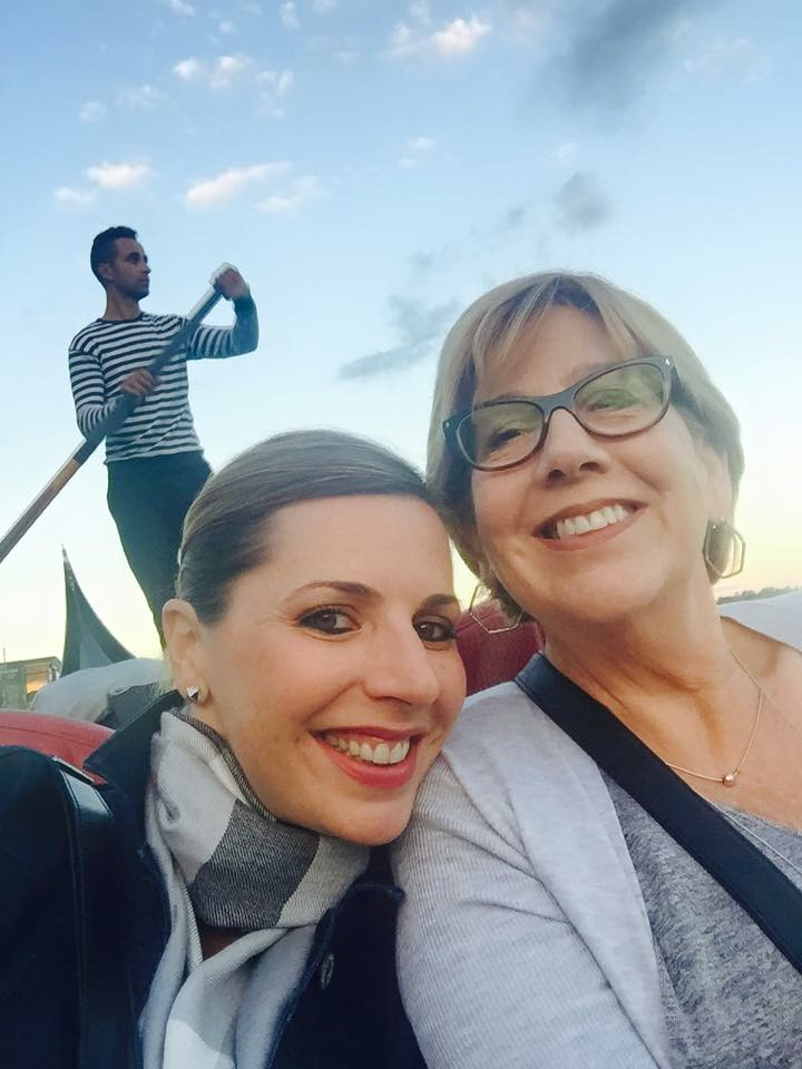 Mom & me in Italy, 2015