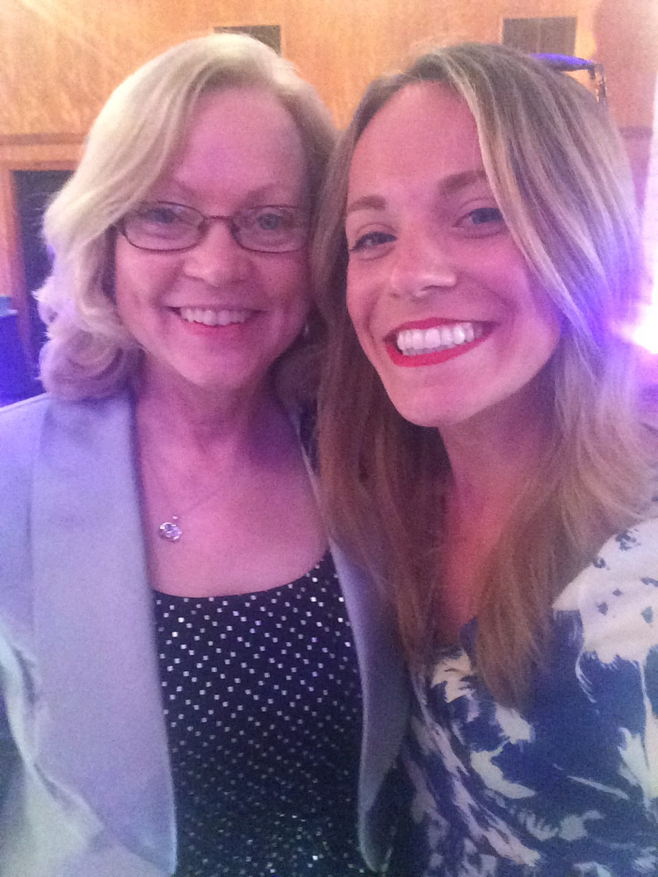 Mom & me at my cousin's wedding, 2016, Texas
