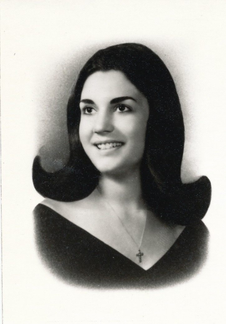 When Mom was an elementary school teacher and had the coolest '60s hair in town. New Kensington, PA.