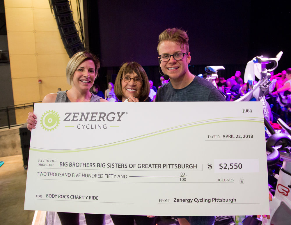 Zenergy's donation of $2,550