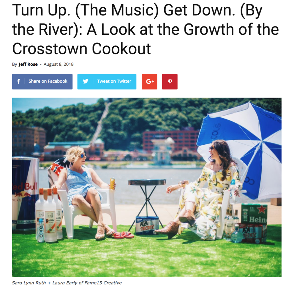 LOCALpittsburgh: Turn Up. (The Music) Get Down. (By the River): A Look at the Growth of the Crosstown Cookout  - August 8, 2018