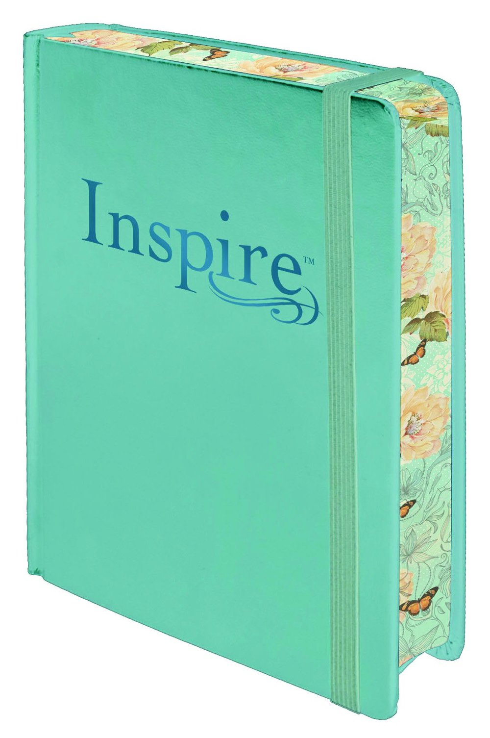 This is an Inspire Bible. It's amazing for Creative Journaling. The ISBN # for purchasing a copy on Amazon or any book retailer is:978-1496419859