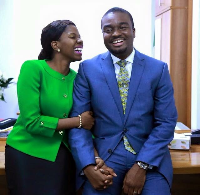 Mrs. Kemi Oyedepo and Pastor David Oyedepo